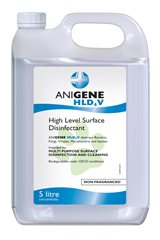 Anigene High Level Disinfectant Unfragranced - 5Ltr pk 4