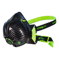 Stealth P3 Half Mask with Disposable Filters -Size M/L
