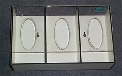 Trespa Glove Box Dispenser - 3 Boxes