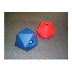Decahedron Small - Red